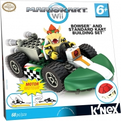 Bowser and Standard Kart...