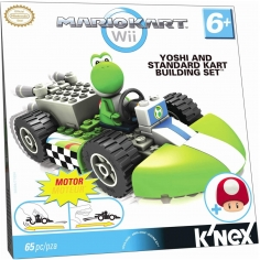 Yoshi and Standard Kart...