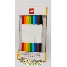 Confezione 9 penne gel...