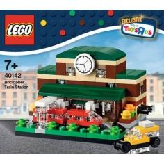 Bricktober Train Station -...