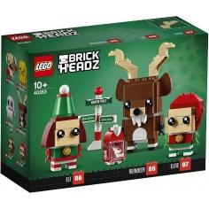Elfi e Renna - Brickheadz...