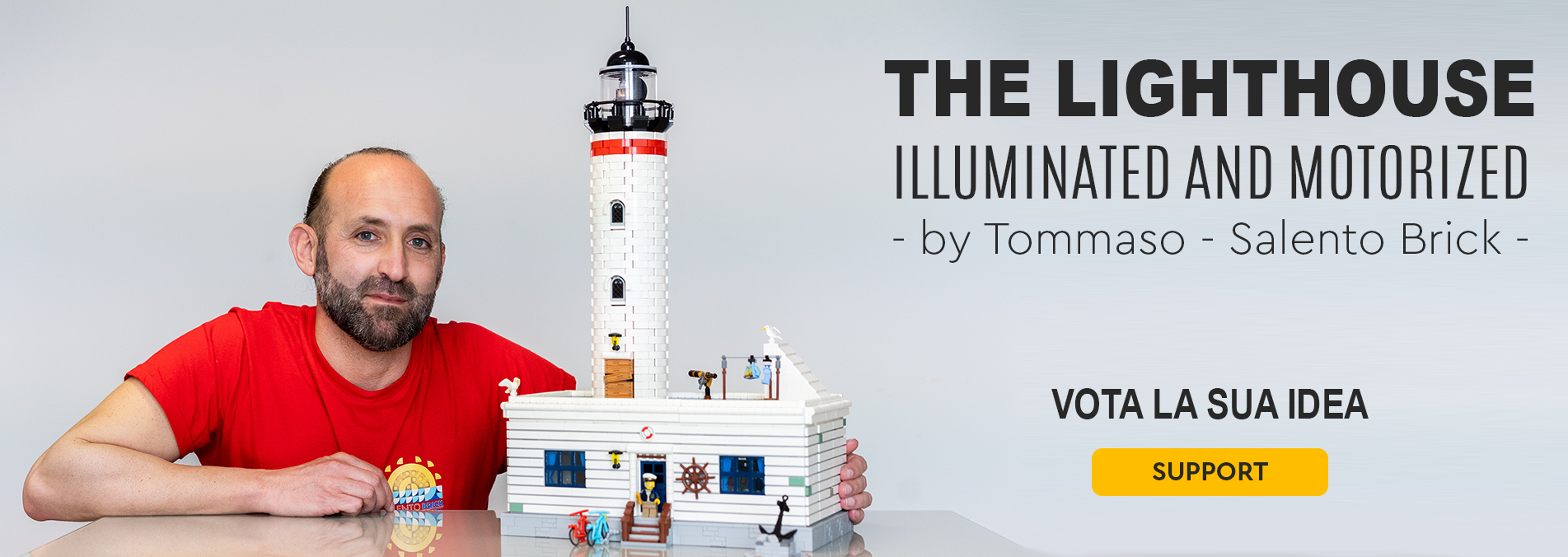 Vota sul sito Lego® IDEAS